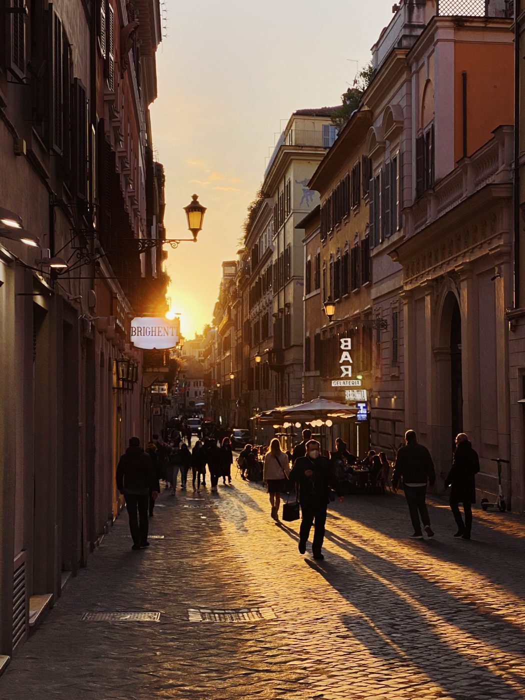 Walking: A Way of Life In Italy