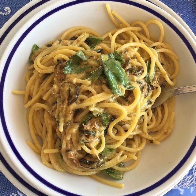 Mariagrazia: the first spaghetti alla Nerano