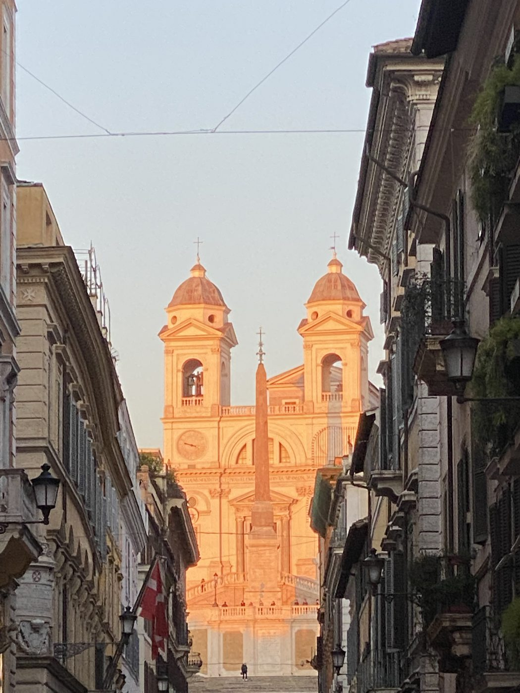 Roma da sotto - Trinità dei Monti