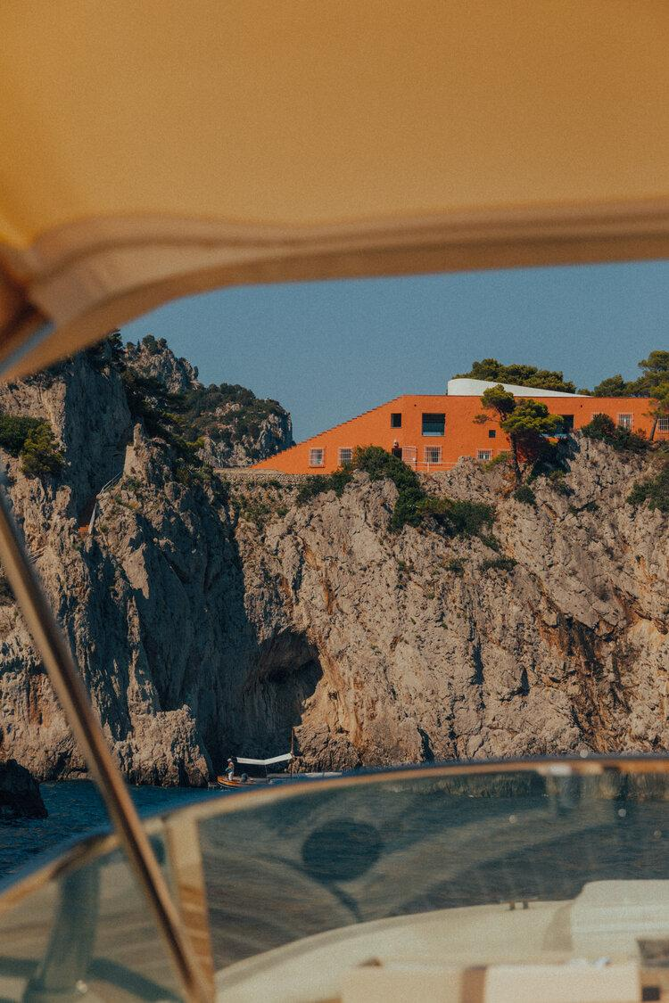 Photo by Stephanie Draime & Eduardo Cerruti - Casa Malaparte Campania