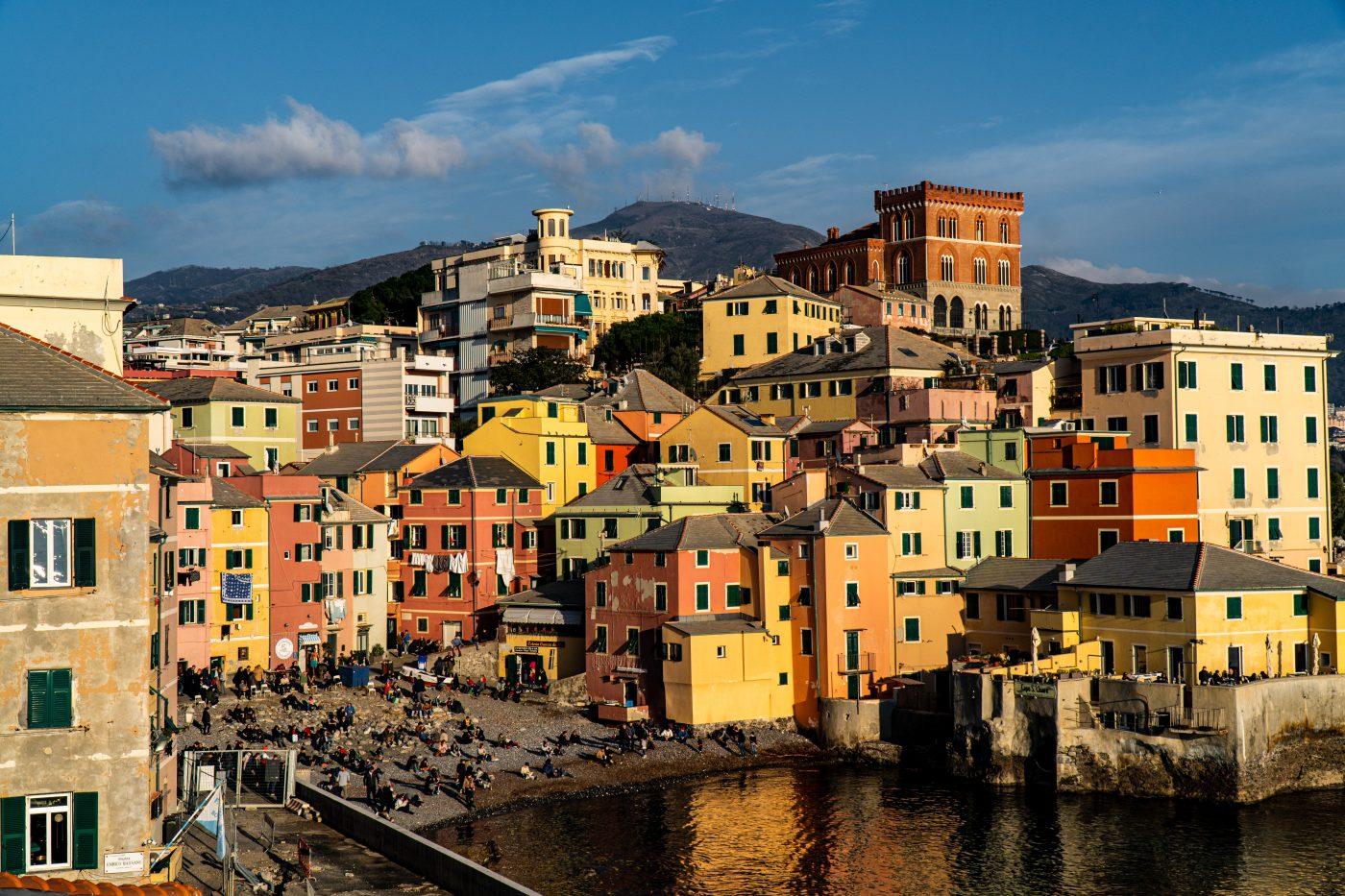 Liguria Genoa, the Lady of the Sea