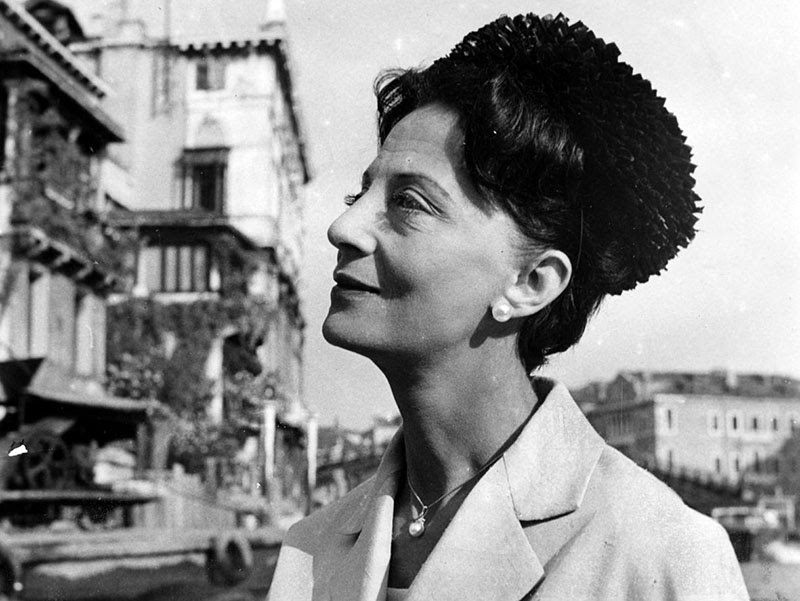 Irene Brin - Writer, a hyper-cultured art dealer, a militant fashionista