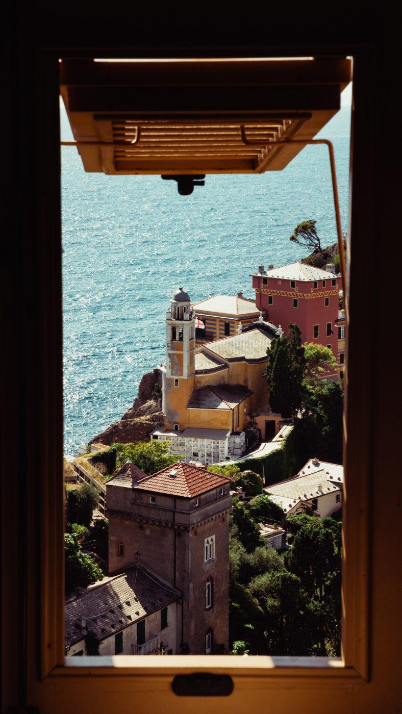 Italy from a window - Liguria Genoa, the Lady of the Sea
