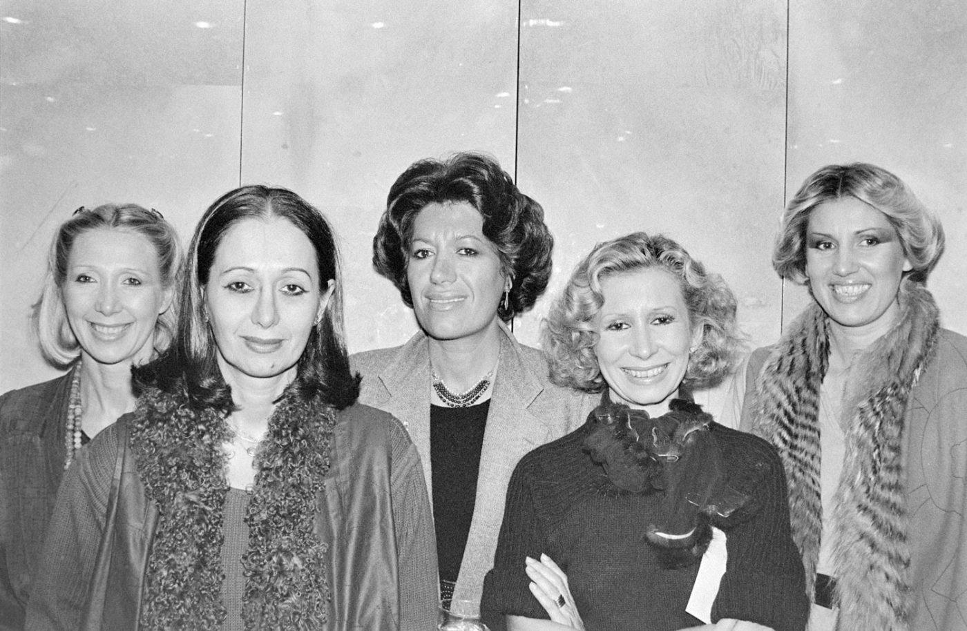 Adele and Edoardo's five daughters Paola, Franca, Carla, Anna and Alda Fendi
