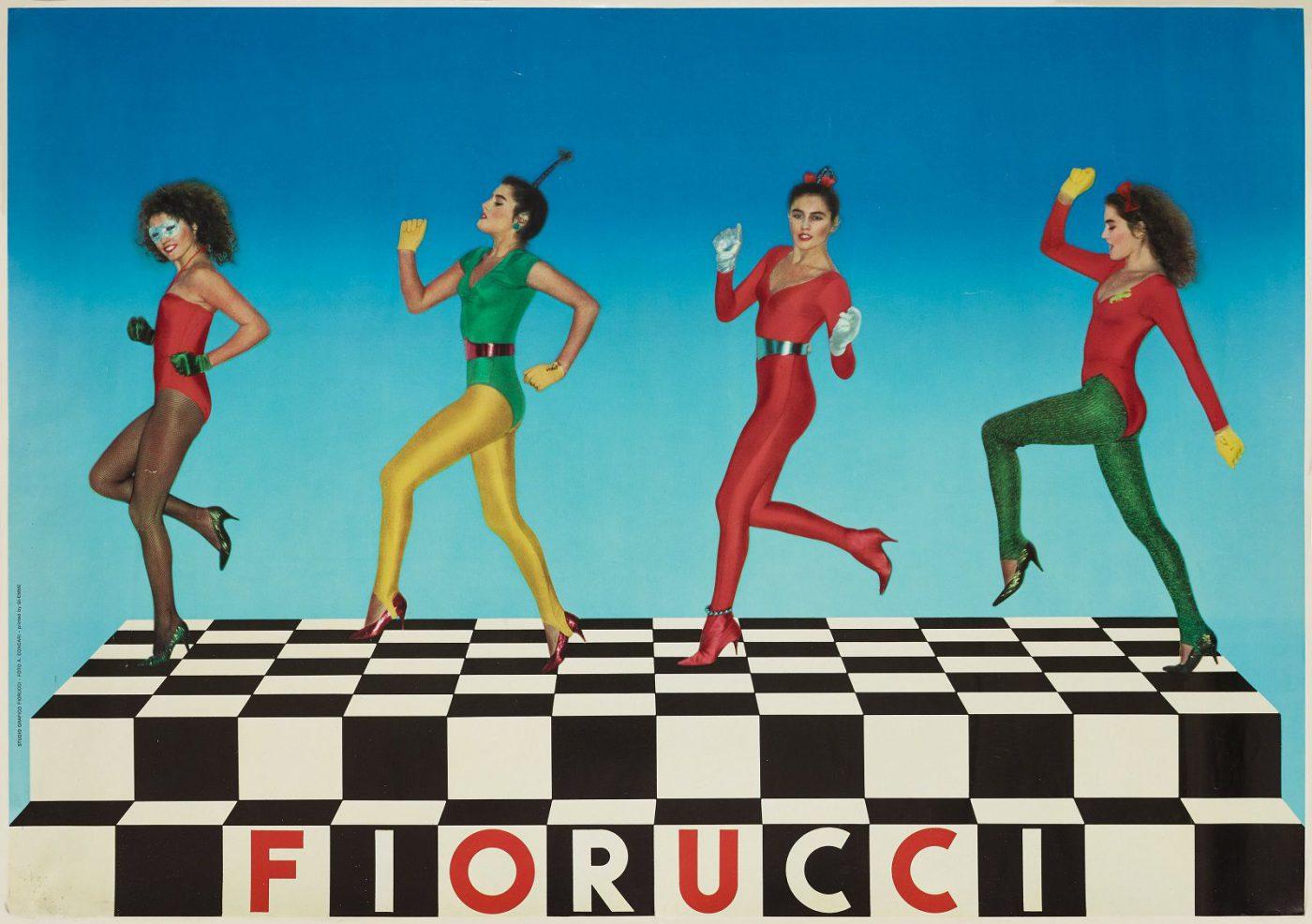 Elio Fiorucci Italian fashion designer