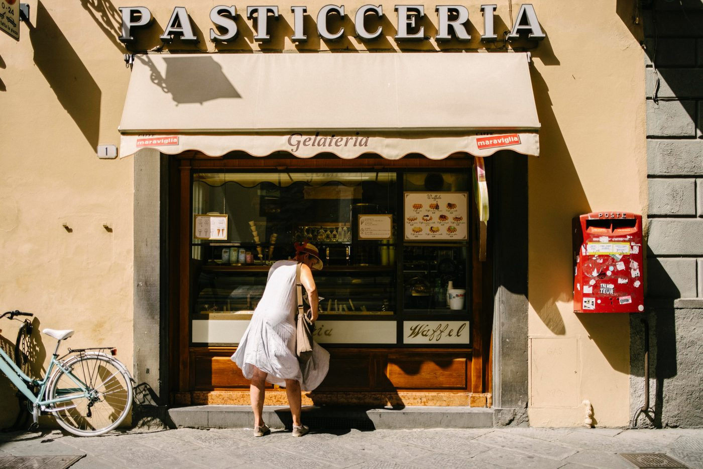 The Art of getting lost in Lucca