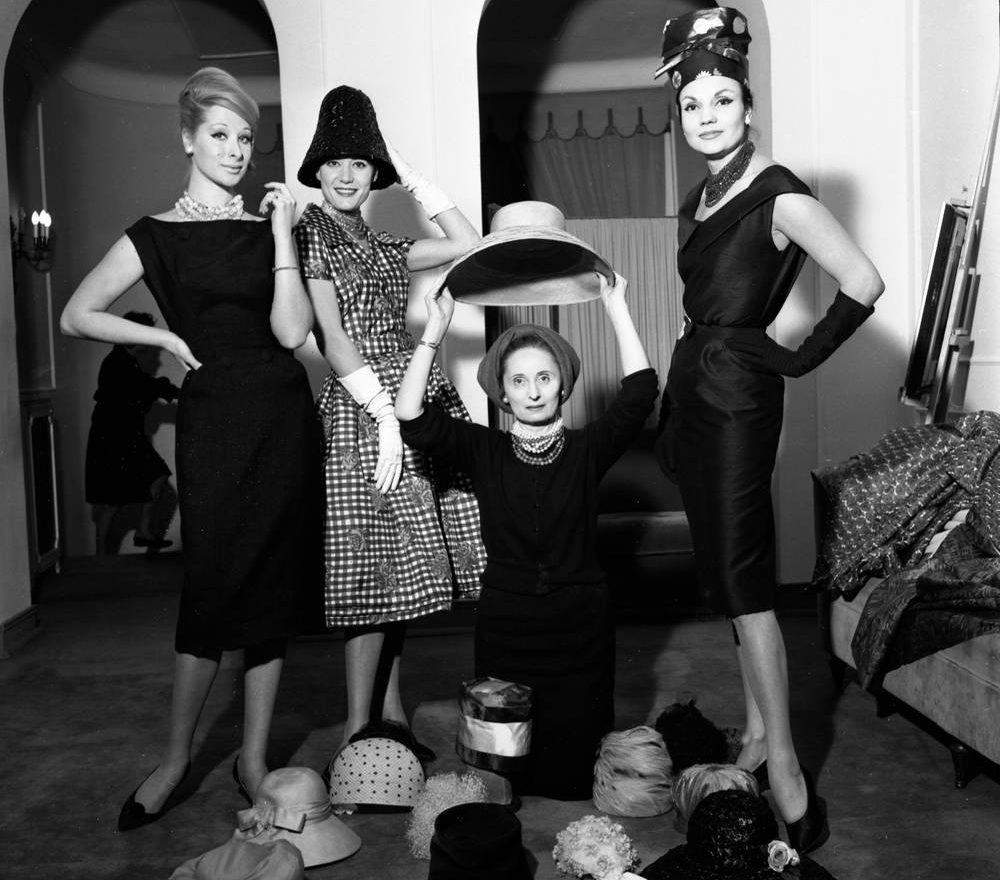Elvira Leonardi Bouyeure, a.k.a. Biki Italian fashion designer