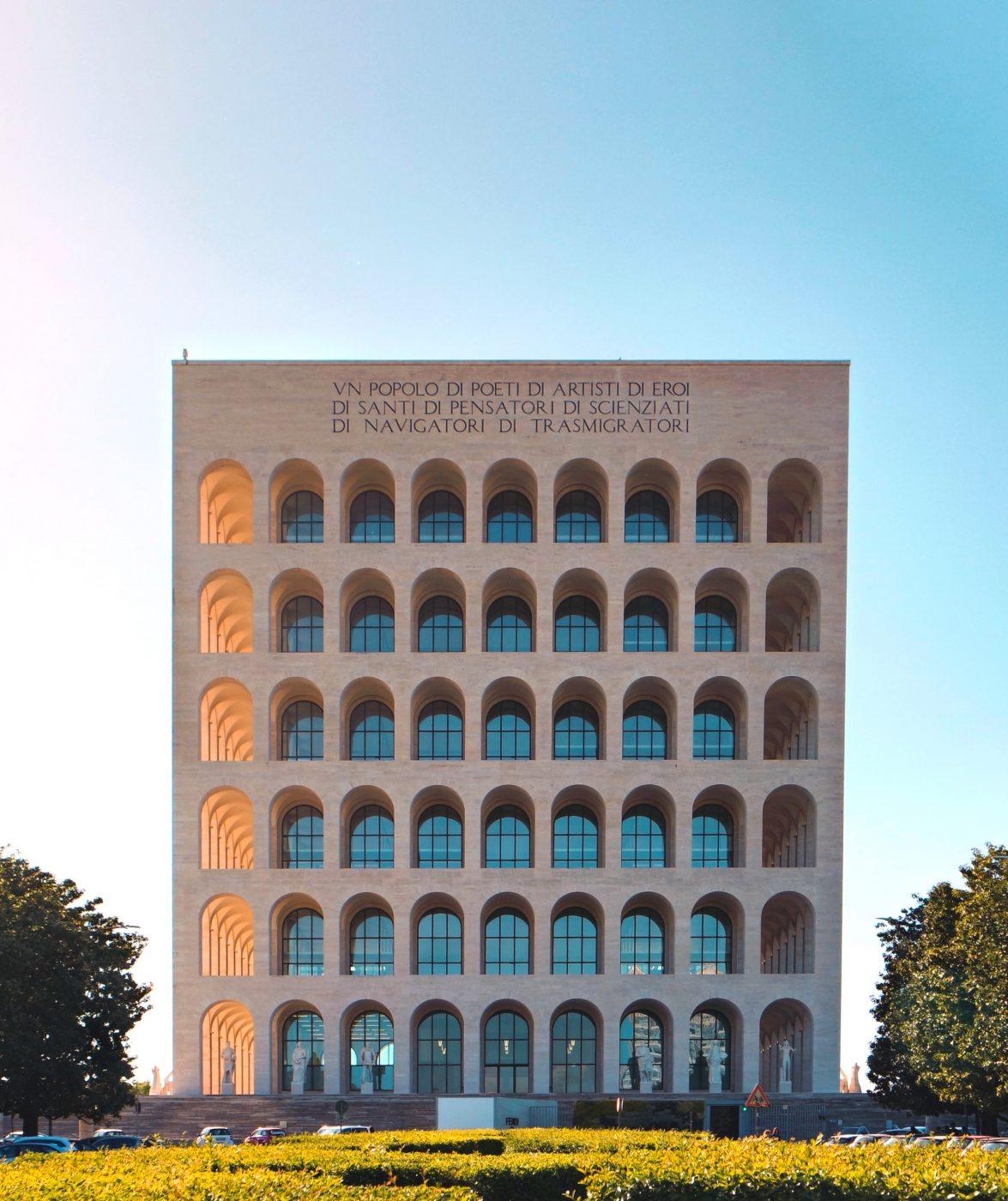 Fendi is Rome and Rome is Fendi - Palazzo della Civiltà Italiana