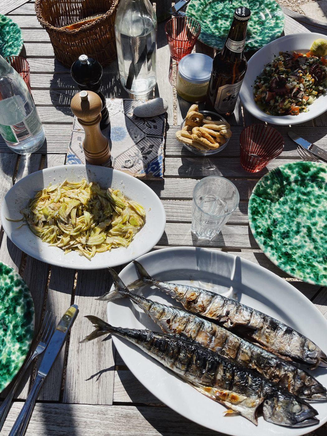 Seafood meal - Sardines