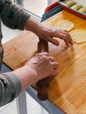 Puglia's grandmothers Pastatelle della nonna