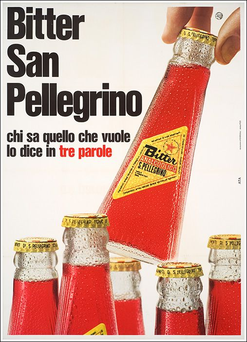 Bitter San Pellegrino Here the real flavors of the Made in Italy (which we don't like to admit) must be tried to understand a nation.