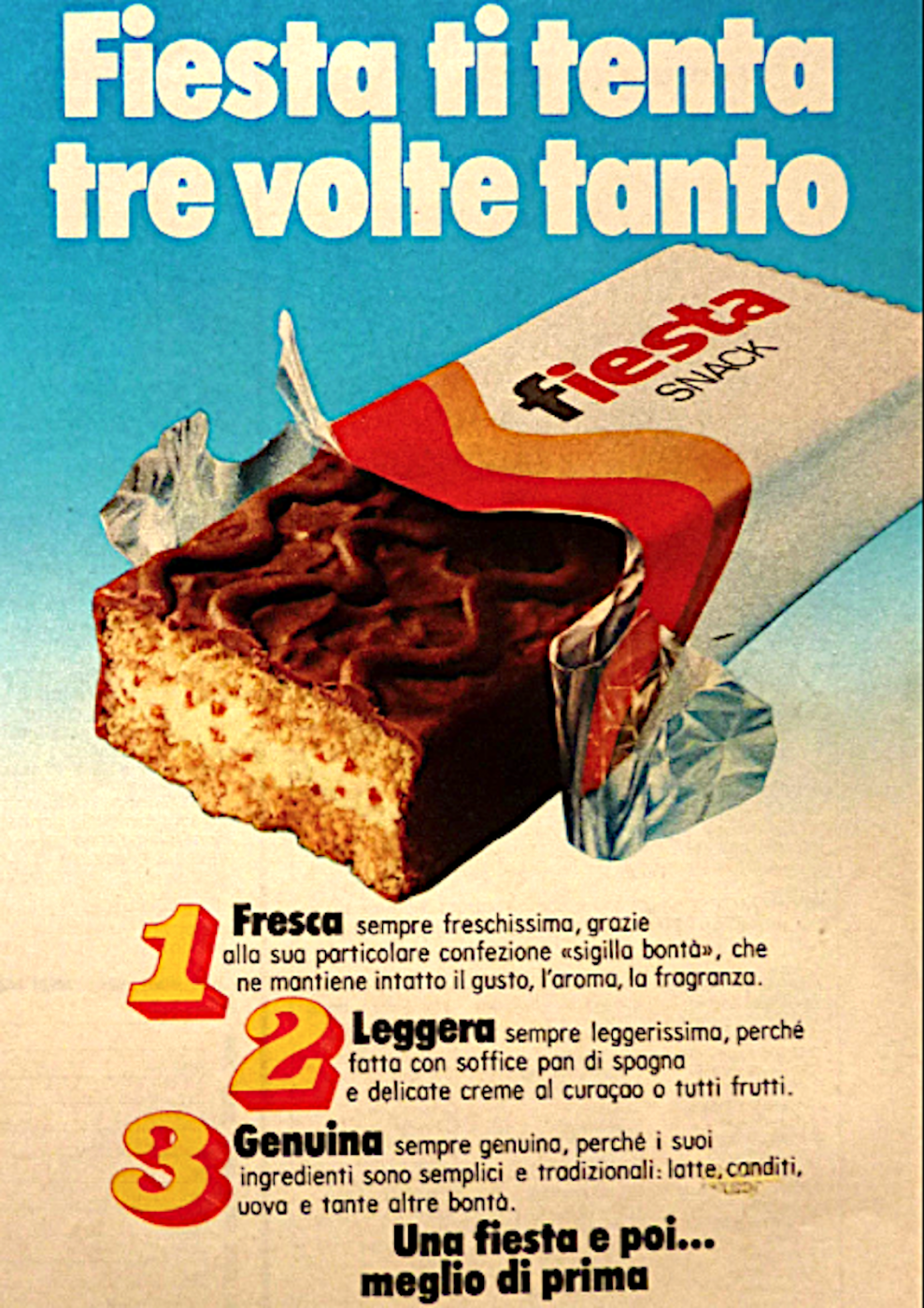 Fiesta Ferrero Here the real flavors of the Made in Italy (which we don't like to admit) must be tried to understand a nation.