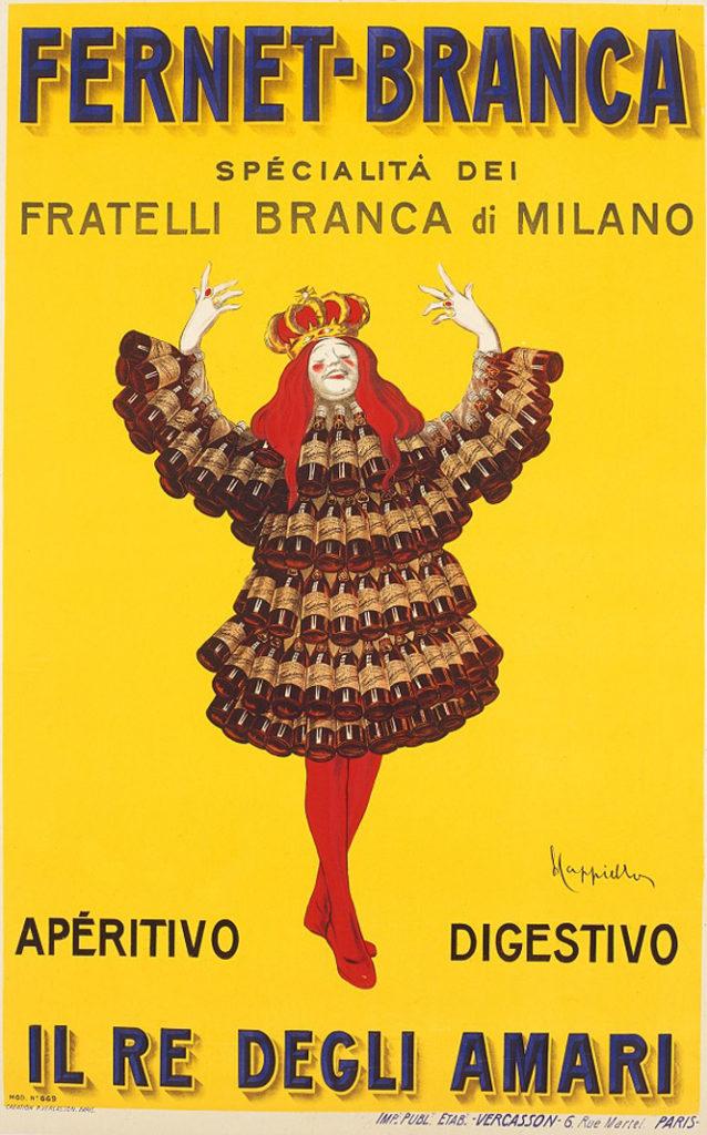 Italian digestivo Amaro Fernet-Branca (Milan)