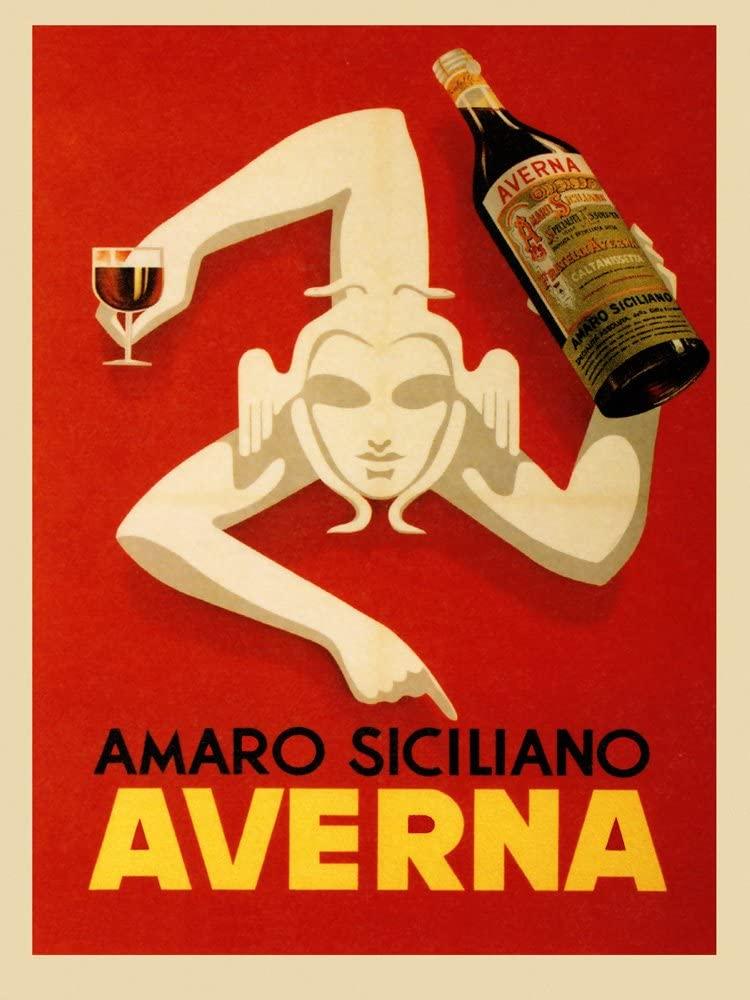 Italian digestivo Amaro Averna (Sicily)