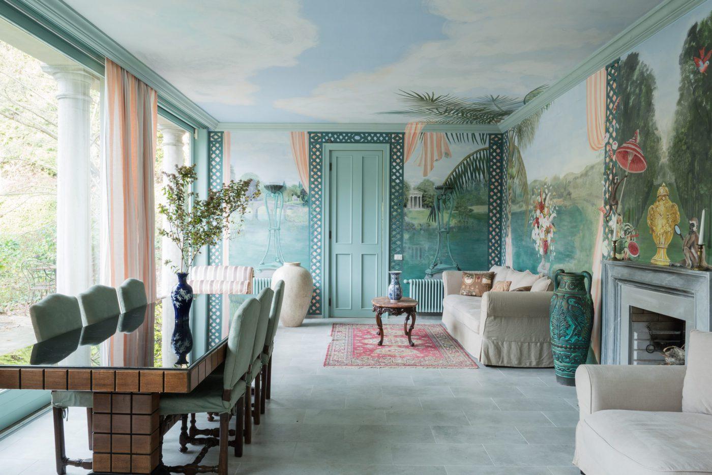 salone la foleia interior design lago maggiore