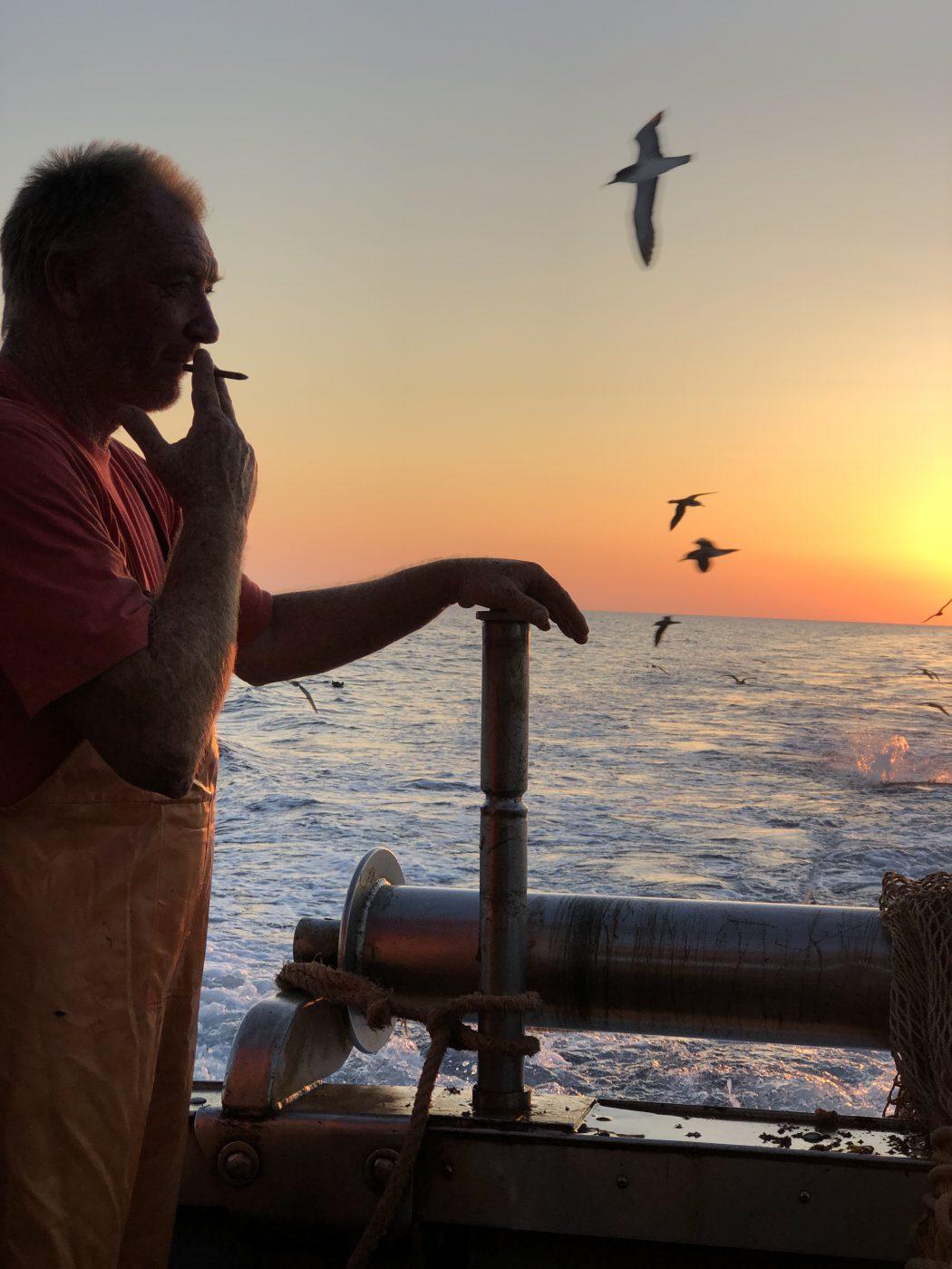 Favignana Island Sicilia - a fishing boat named Osprey