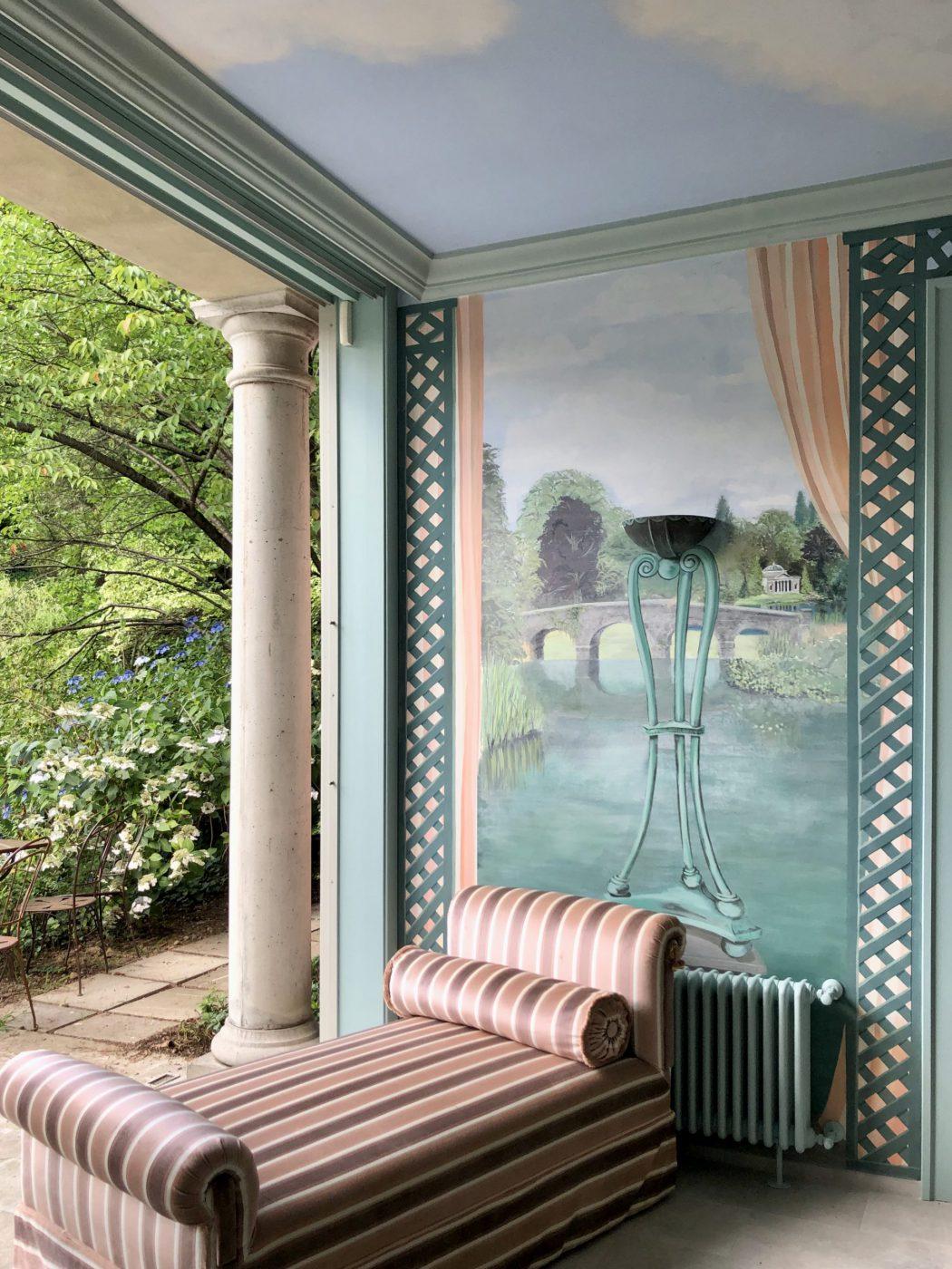 interior design Villa la foleia lago maggiore