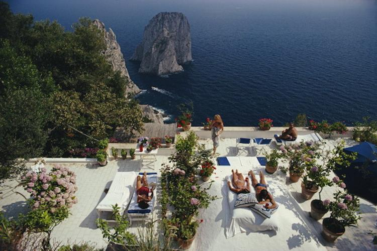 THE 5: ISLANDS WE ARE OBSESSED WITH THIS MONTH Capri by Slim Aarons
