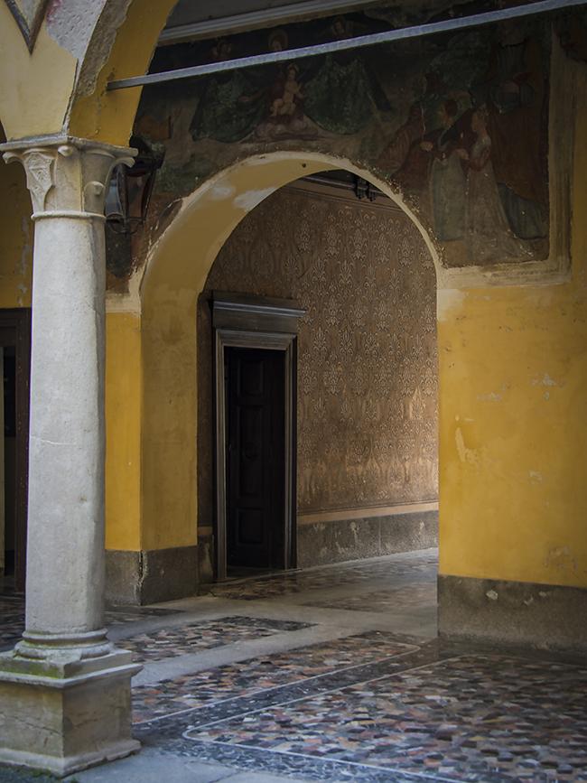 Palazzo Albricci Peregrini in the Center of Como