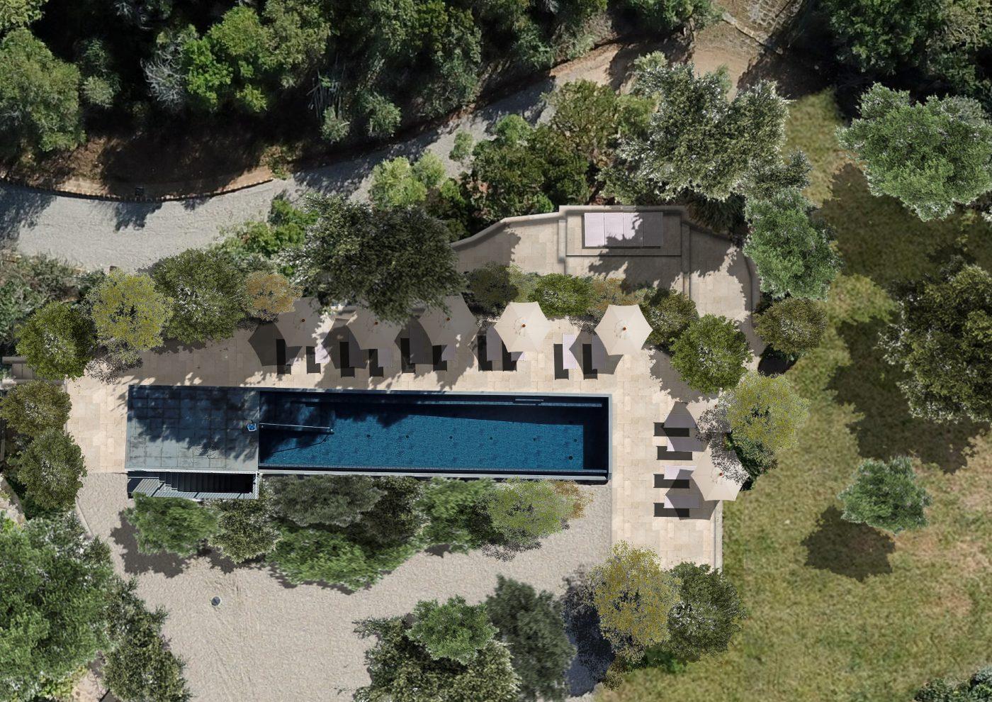 new pool villa talamo