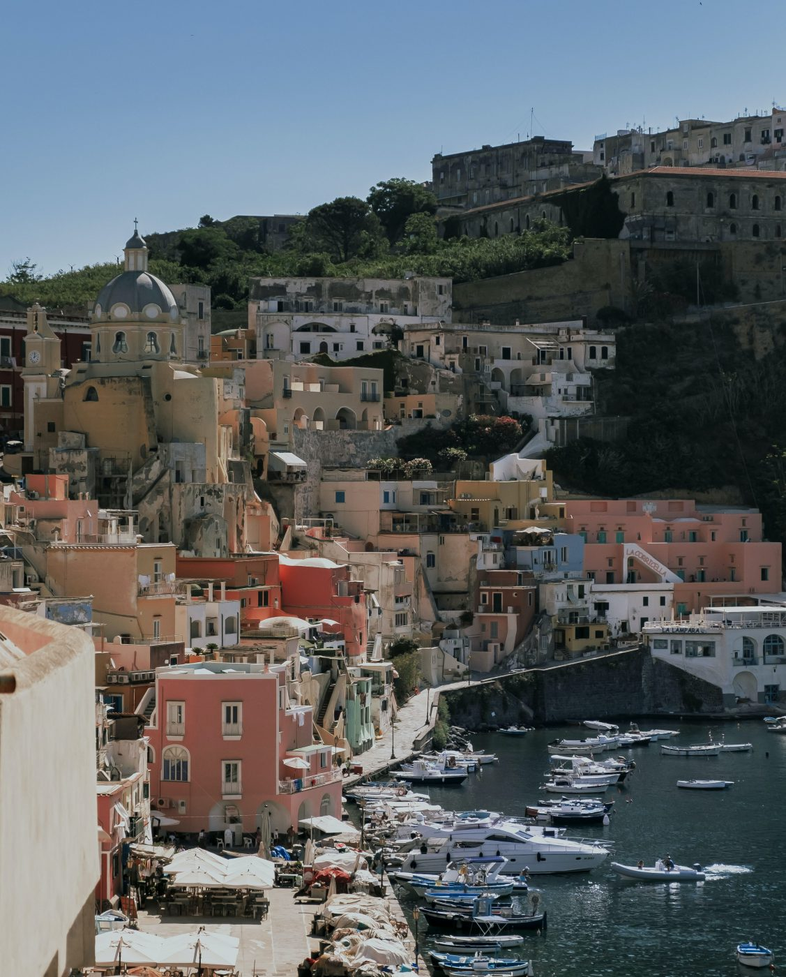 The Allure of the Pastel Palette Island - Procida Campania