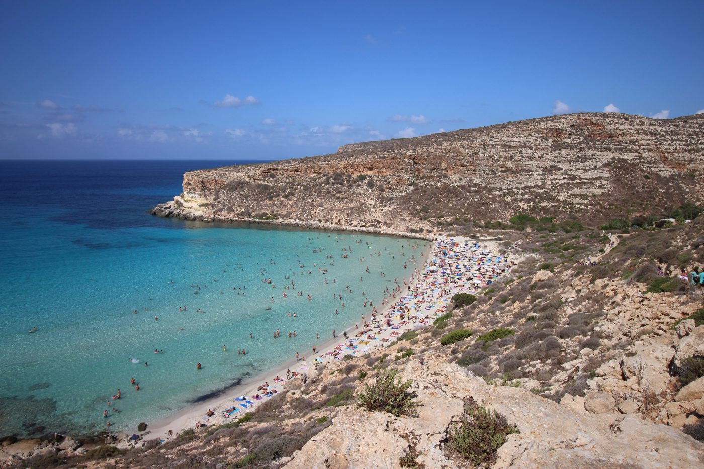 THE 5: ISLANDS WE ARE OBSESSED WITH THIS MONTH Lampedusa