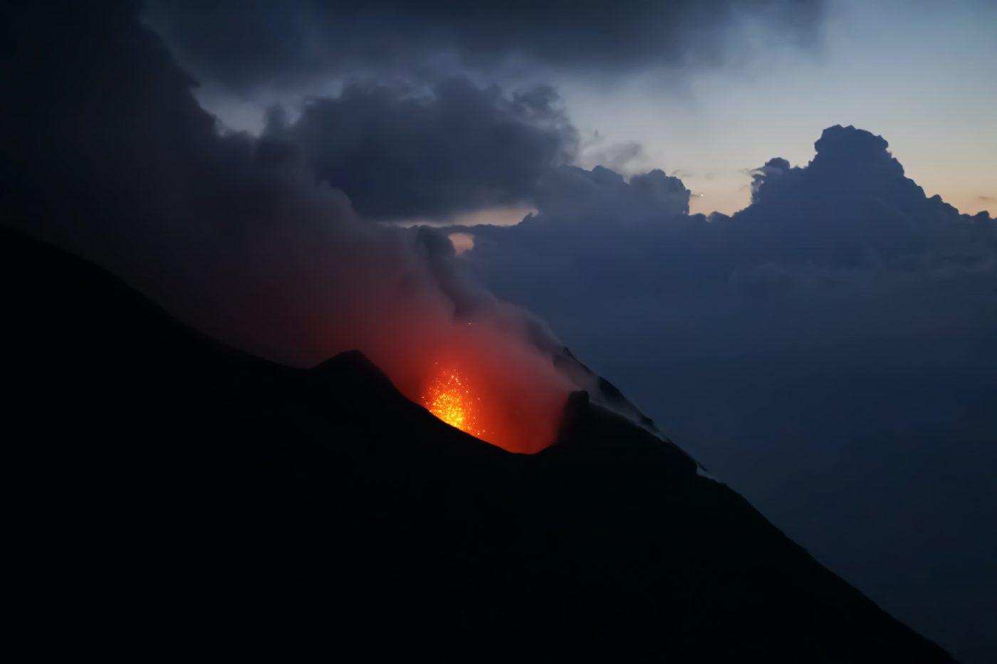 Volcano Stromboli Island - Sicilia