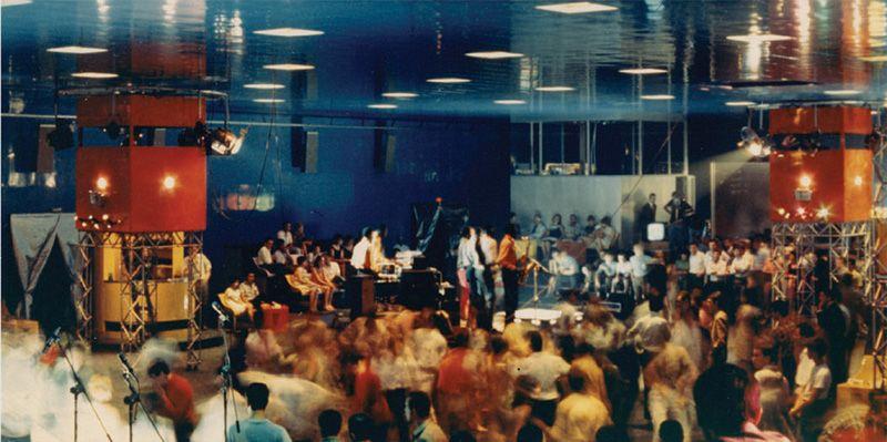 The Heart of Discoteca Italiana Rimini, 1967 Pietro Derossi.