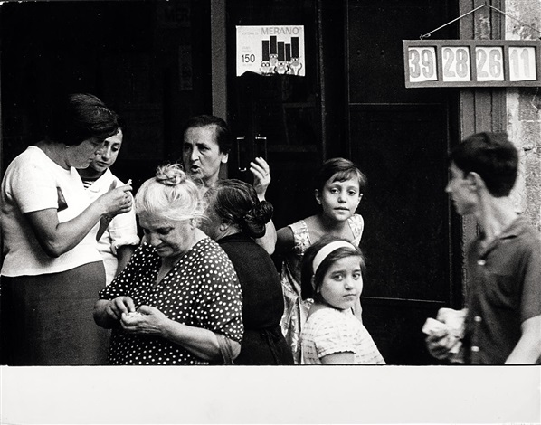 The Italians, Naples , 1964 Photography by Bruno Barbey
