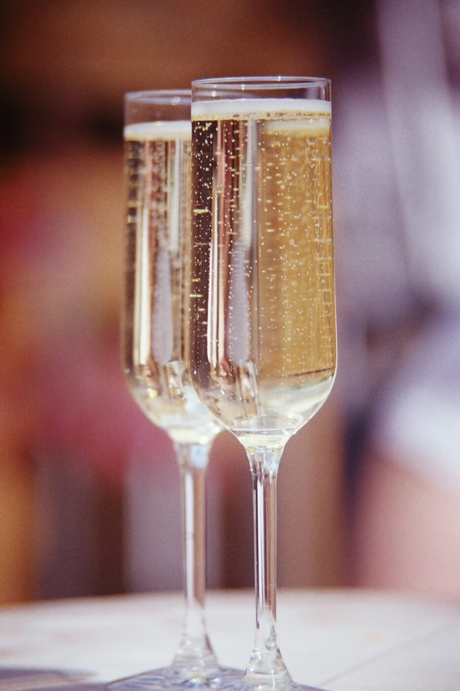 Prosecco - The wine with delicate tiny bubbles, and a light yellow tinge