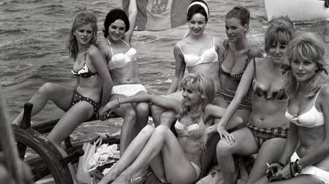 The history of villeggiatura - Riccione 1960