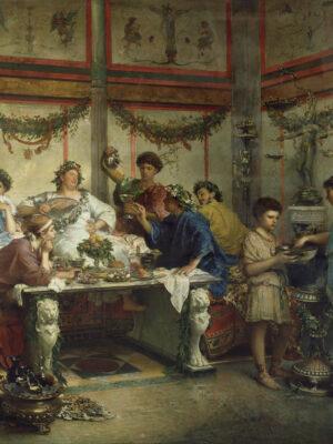 A Roman Feast; Roberto Bompiani,